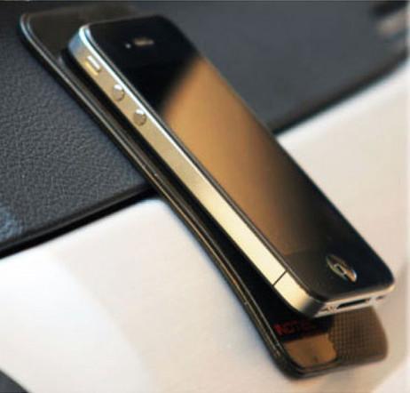AUTO-HALTER Unterlage ANTI-RUTSCH PAD für Smartphone Handy etc. SCHWARZ – Bild 6
