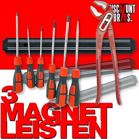 Universal Werkzeughalter MAGNETLEISTE Messerschiene 3er-Set – Bild 1