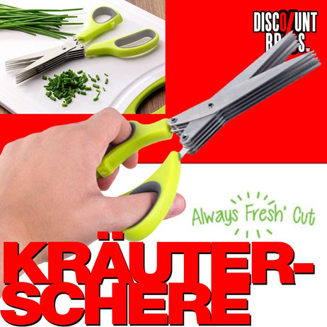AlwaysFreshKitchen ALWAYS FRESH CUT Kräuterschere – Bild 1