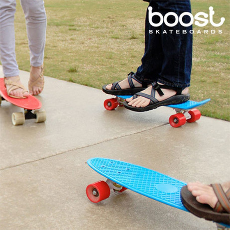 BOOST-BOARD™ PennyBoard Fish SKATEBOARD  – Bild 2