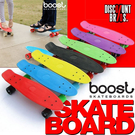 BOOST-BOARD™ PennyBoard Fish SKATEBOARD  – Bild 1