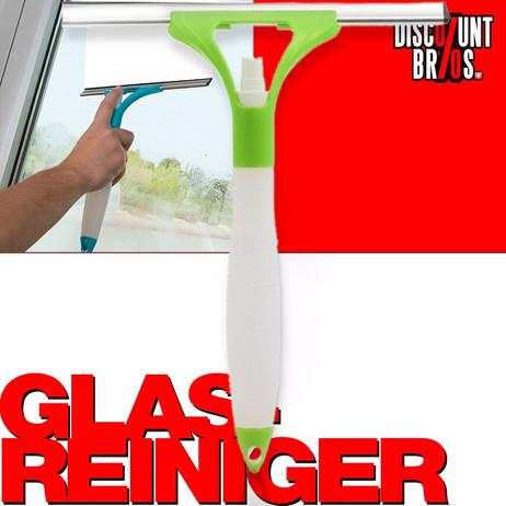 Fensterreiniger Glasreiniger GLASABZIEHER mit Sprühkopf – Bild 1