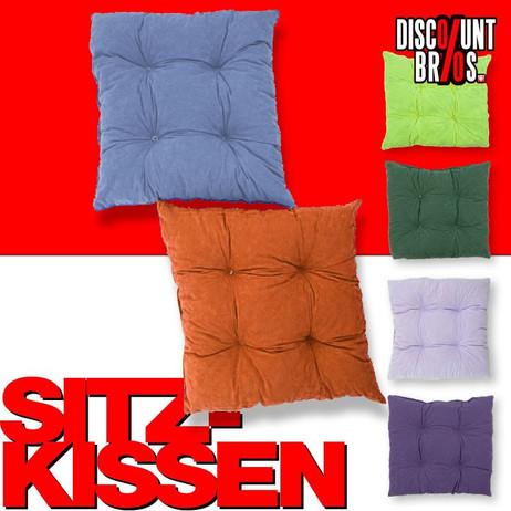 SITZKISSEN Kissen mit Bändel 2-er Pack – Bild 1