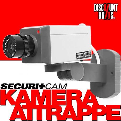 Securitcam™ KAMERA ATTRAPPE mit LED und Bewegungsmelder OHNE SCHWENK – Bild 1