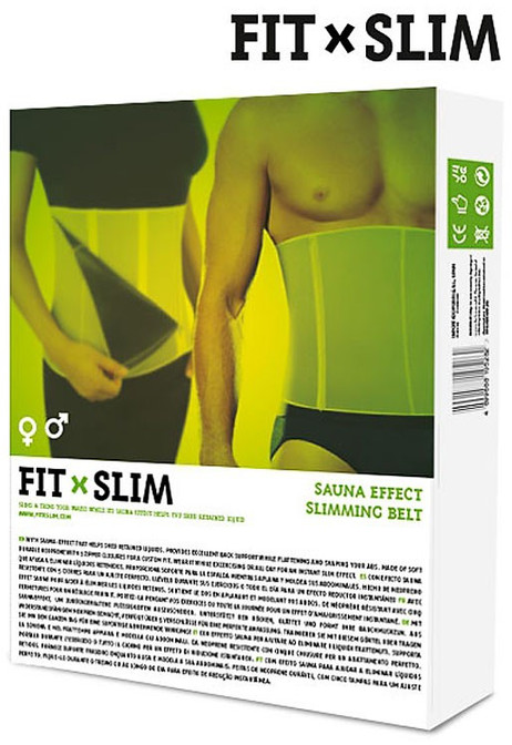 Sauna SCHLANKHEITSGÜRTEL Just-Slim-Belt® Rückenstütze und Bauchweggürtel – Bild 5