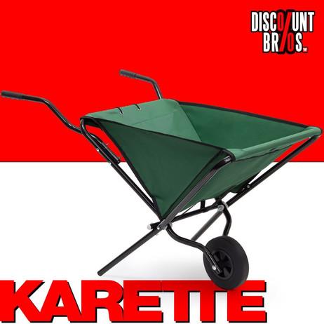 Garette KARRETTE Schubkarre faltbar – Bild 1
