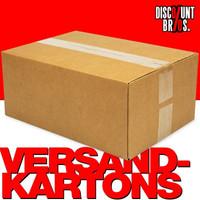 25 Stk. VERSANDKARTONS Kartonschachteln Faltkartons 40×30×20cm 001