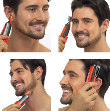 MicroSharpTrim™ DUO multifunktionaler Haartrimmer DOPPEL-TRIMMER Rasierer  – Bild 4