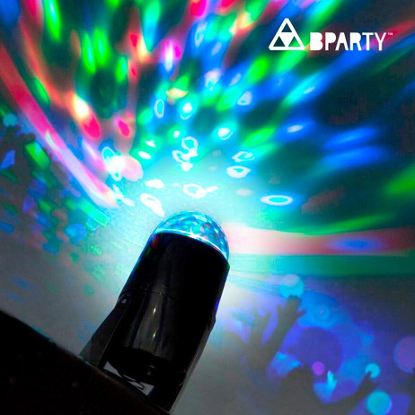 B Party DISCO Multicolor-LED-Projektor – Bild 2