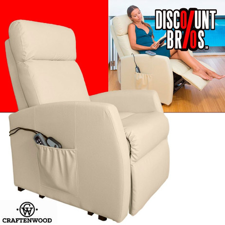 Compact 6007 Massage SOFA Sessel mit Hebefunktion – Bild 1