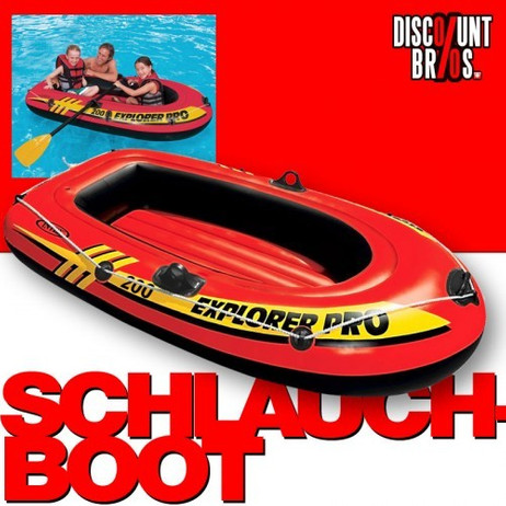 Intex SCHLAUCHBOOT EXPLORER PRO 200 Boat 196×102×33cm