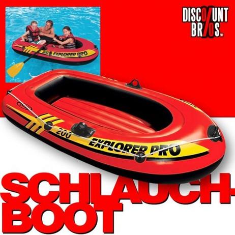 Intex SCHLAUCHBOOT EXPLORER PRO 200 Boat 196×102×33cm – Bild 1