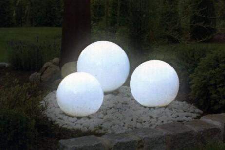 LED SOLAR LEUCHTKUGEL Kugelleuchte Ø30cm – Bild 4