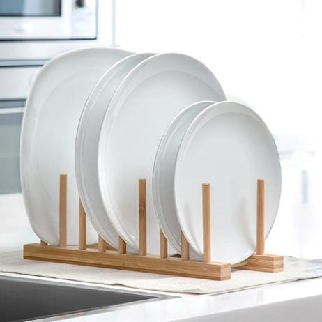 Abtropfgestell GESCHIRR-ABTROPFGITTER aus Holz – Bild 3