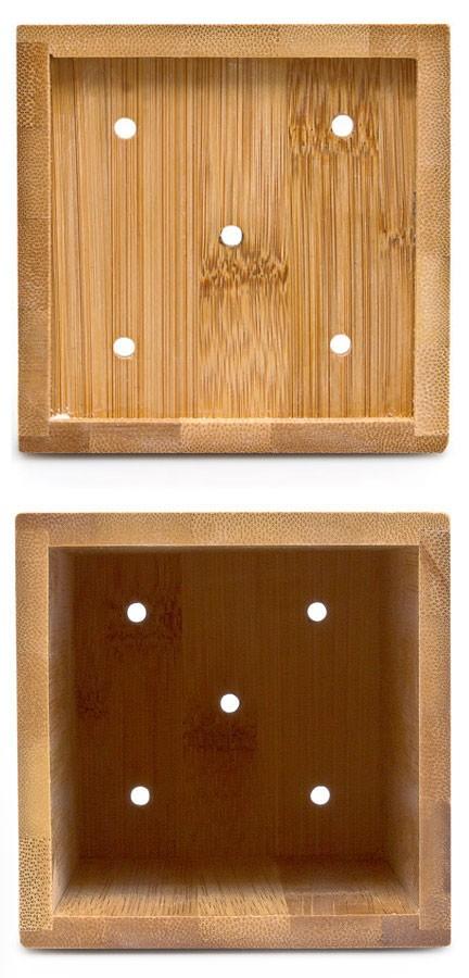 Küchenhelfer KOCHLÖFFEL mit Halter aus Bambus Holz 5er Set – Bild 5