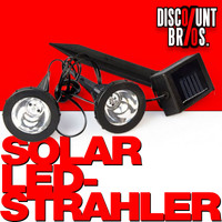 Solar LED STRAHLER 2er-Set