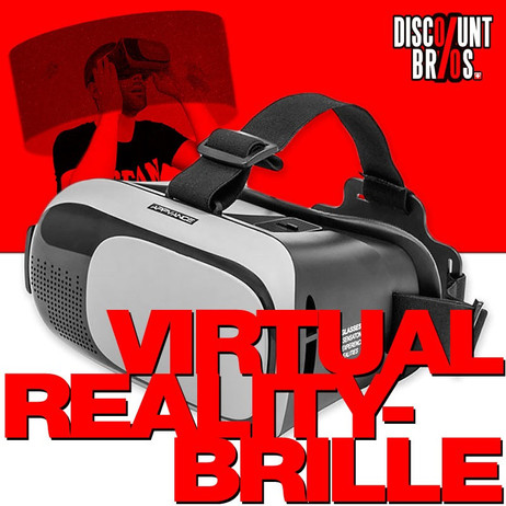 Virtual-Reality VR BRILLE C8000 iPhone + Android – Bild 1
