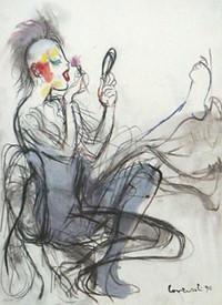 Beauty I  oder  Beauty II  Lithographie von Mario Comensoli