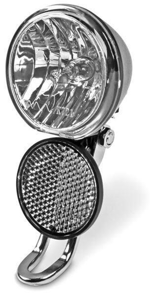 10 Lux VELOLICHT Velolampe mit Halterung und Reflektor für Dynamobetrieb