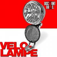 10 Lux VELOLICHT Velolampe mit Halterung und Reflektor für Dynamobetrieb 001