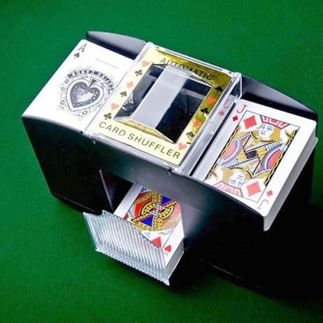 Automatischer KARTENMISCHER Kartenmischmaschine für 2 Decks – Bild 4
