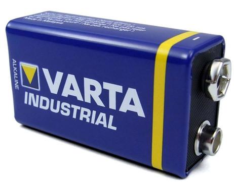1 Stk. VARTA 4022 Industrial Alkaline Batterien 9V Block E 6LR61 aus 20er Pack – Bild 2