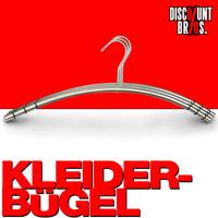 Edelstahl KLEIDERBÜGEL 3er-Set