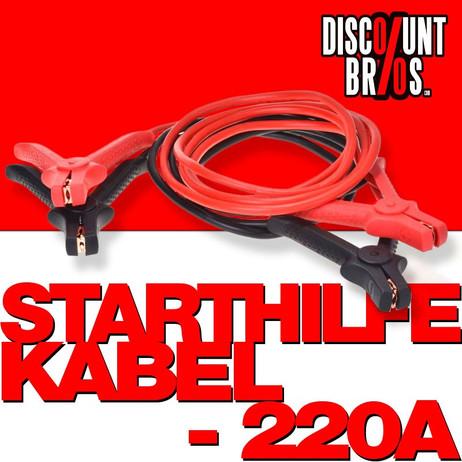 STARTHILFEKABEL 220 Ampere 16qmm 3 Meter TÜV/GS – Bild 1