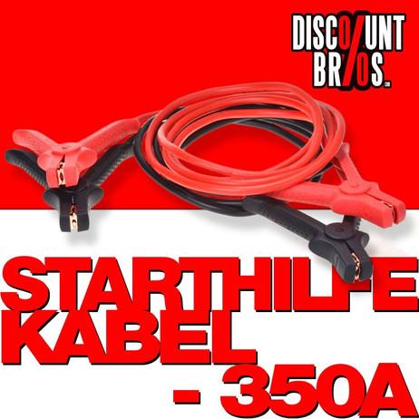 STARTHILFEKABEL 350 Ampere 25 qmm 3,5 Meter TÜV/GS – Bild 1
