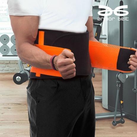 Armor Belt SCHLANKHEITSGÜRTEL Rückenstütze und Bauchweggürtel Grösse M – Bild 3