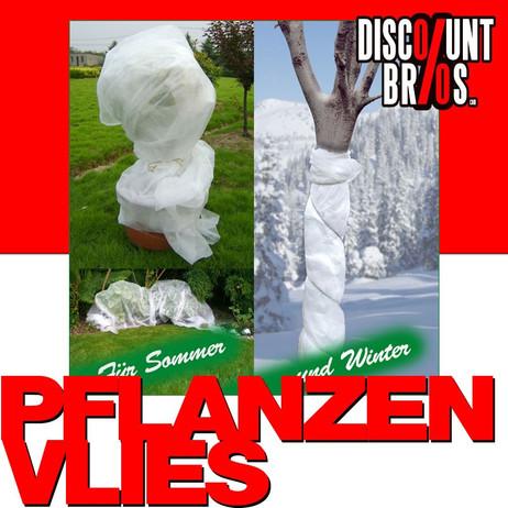Sommer und Wintervlies ABDECKVLIES für Pflanzen 1,5×5m – Bild 1