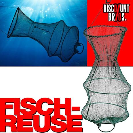 Fischreuse SETZKESCHER Reuse Kescher Angelkescher – Bild 1