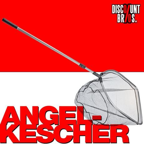 Teleskop ANGELKESCHER Kescher Pool Teich 60×50cm-2,15m – Bild 1