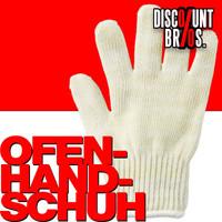 Ofenhandschuh HITZESCHUTZ-HANDSCHUH Backhandschuh Grillhandschuh Topflappen BEIGE