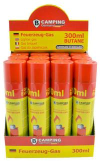 B-CAMPING Butan Gas FEUERZEUGGAS 300ml