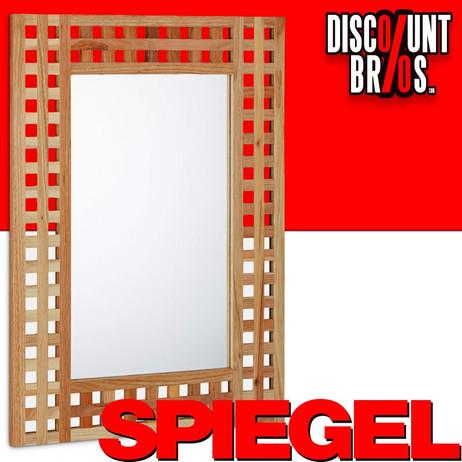 Wandspiegel SPIEGEL Badspiegel Garderobenspiegel aus Walnuss – Bild 1