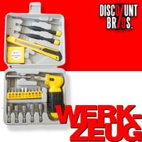 32-teiliges WERKZEUG-SET mit Werkzeug-Koffer