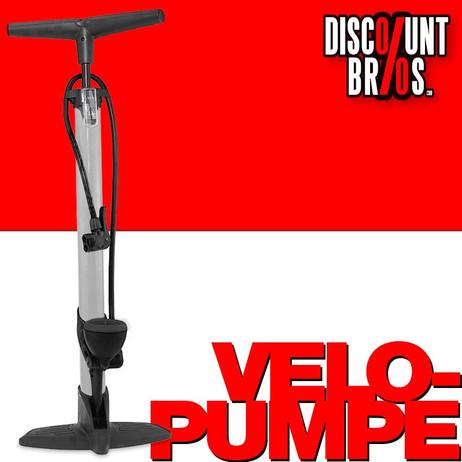 Velopumpe LUFTPUMPE Standluftpumpe Pumpe mit Manometer – Bild 1