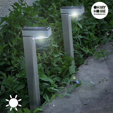 4 × LED SOLAR LAMPEN Oh My Home Hammy  – Bild 3