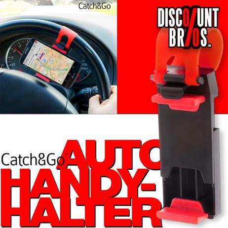 Catch&Go AUTO-HALTER Lenkrad Handyhalterung – Bild 1