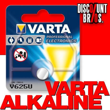 VARTA Alkaline Knopfzelle Fotobatterie V625 LR9 1,5V 1er Blister – Bild 1