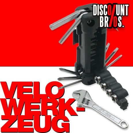 Velo Fahrrad REPARATUR-SET Werkzeug 16-teilig