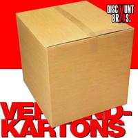 20 Stk. VERSANDKARTONS Kartonschachteln Archiv 40×40×30cm