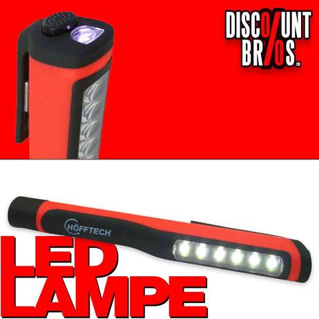 HÖFFTECH Stableuchte LED ARBEITSLAMPE Taschenlampe Inspektionslampe – Bild 1