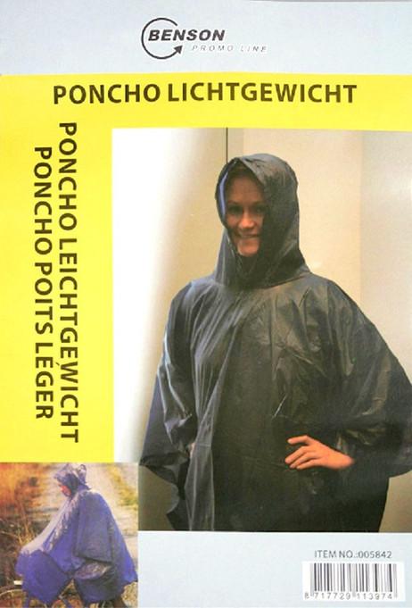 Leichter Regenschutz REGENPONCHO Pelerine Regenumhang – Bild 3