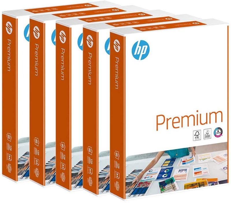 500 Blatt HP CHP852 Premium KOPIERPAPIER Inkjet-Papier, A4 90g/m², beidseitig matt (ehemals CHP235 & Bright White CHP1825A)