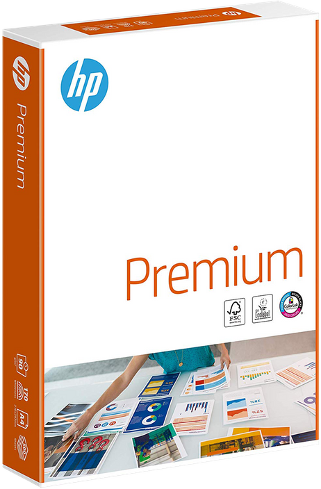 500 Blatt HP CHP852 Premium KOPIERPAPIER Inkjet-Papier, A4 90g/m², beidseitig matt (ehemals CHP235 & Bright White CHP1825A) – Bild 2