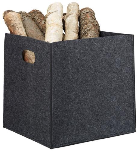 Quadratischer Filzkorb KORB Aufbewahrungsbox aus Filz 30×30×30cm – Bild 5