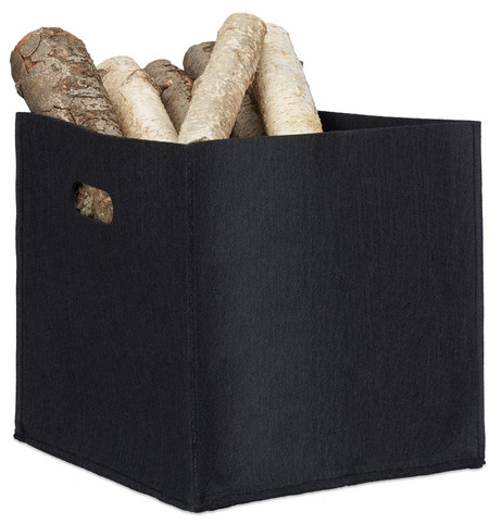 Quadratischer Filzkorb KORB Aufbewahrungsbox aus Filz 30×30×30cm – Bild 2