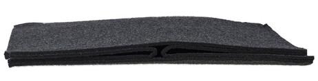 Quadratischer Filzkorb KORB Aufbewahrungsbox aus Filz 30×30×30cm DUNKELGRAU – Bild 8